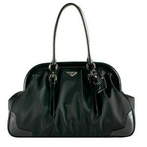 99227b9a16 PRADA Tessuto Nylon Calf Medicine Bag